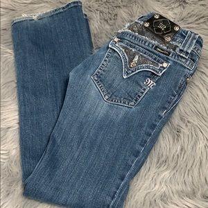 Miss me boot cut jeans 30 x 31